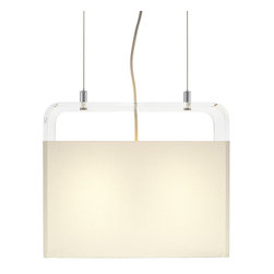 """Pablo Designs - Tube Top 14 - Pendant Lamp 