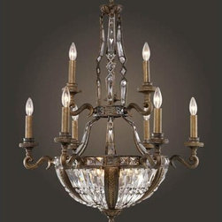 Elk Lighting - Trump Home Millwood Fifteen-Light Antique Bronze Chandelier - Trump Home Millwood Fifteen-Light Antique Bronze Chandelier Elk Lighting - 2497/6+3+6
