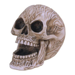GSC - Skull Collection White Flame Head Collectible Statue Figure Collection - This gorgeous Skull Collection White Flame Head Collectible Statue Figure Collection has the finest details and highest quality you will find anywhere! Skull Collection White Flame Head Collectible Statue Figure Collection is truly remarkable.