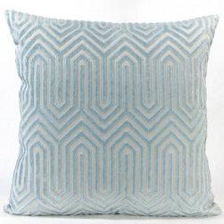 Hollywood Throw Pillow - Blue -