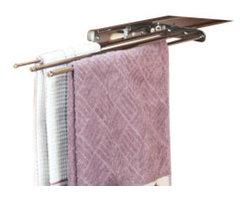 Rev-A-Shelf - Rev-A-Shelf 563-47 C Pullout Towel Holder - Chrome - PRODUCT DETAILS