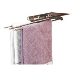 Rev-A-Shelf - Rev-A-Shelf 563-47 C Pullout Towel Holder - Chrome - PRODUCT DETAILS