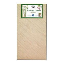 Colgate - Colgate EcoVisco Classica Crib Mattress Multicolor - EC615F - Shop for Mattresses from Hayneedle.com! The Colgate EcoSpring Classica Crib Mattress - A Colgate Cradletyme Naturals Eco-Friendlier Mattress provides the best of both worlds with extra-firm Classica I type foam on the firmer infant side and the popular viscoelastic memory foam on the less firm toddler side. This all-natural crib mattress fits both cribs and toddler beds. Dimensions: 51.6L x 27.3W x 6H inches.Additional Features:GREENGUARD Children & Schools Certified6-inch-thick dual firmness lightweight foamExtra-soft rayon cloth cover made with renewable bamboo fibersNo metal or plastics involvedPlant oils replace petroleum-based oilsNatural and renewable coir fiber support/insulator pad made from coconut shell husks and all-natural latexAbout ColgateColgate is known for producing the highest quality crib mattresses in the country. Having received many industry awards they're proud to be among the first members of the Juvenile Products Manufacturers Association. Colgate has been manufacturing crib mattresses in Atlanta Georgia for over 55 years and they're proud to be a US manufacturer located in the heart of the south. Millions of Americans have started their lives sleeping on a Colgate crib mattress.