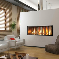 Contemporary Indoor Fireplaces by Travis Industries, Inc.