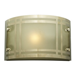 PLC Lighting - PLC 1 Light Outdoor Fixture Oslo Collection 3601/CFL PC - -Finish: Polished Chrome