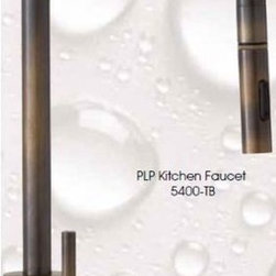 "5400 PLP Contemporary Kitchen Faucet - PLP pulldown kitchen faucet. Contemporary style. 17"" x 9"".    The Waterstone 5400 is the kitchen faucet king. Easily able to reach all areas of the largest sinks."