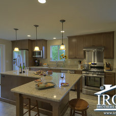 Traditional Kitchen by Irons Brothers Construction Inc