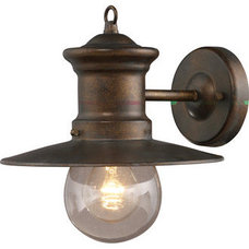 ELK Lighting 42005/1 Traditional / Classic 1 Light Outdoor Sconce from the Marit