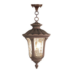 Livex - Livex Oxford Outdoor Chain Hang 7658-58 - Finish: Imperial Bronze