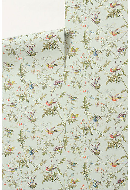 Contemporary Wallpaper by Anthropologie