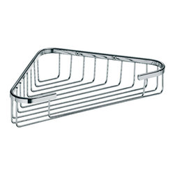 WS Bath Collections - Filo 50012 Shower Basket - Filo by WS Bath Collections Shower Basket 12.8 x 7.5 in Polished Chrome