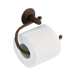 Gedy - Moka Toilet Roll Holder - Vintage style wall mounted toilet paper holder.