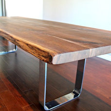 Modern Dining Tables by Living Wood Design