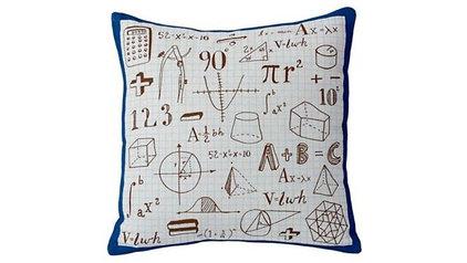 Kids Throw Pillows: Kids Math Throw Pillows in Kids Throw Pillows