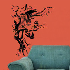 Contemporary Wall Decals by Luulla