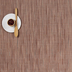 Chilewich - Chilewich Bamboo - Rectangle Placemat - Set of 4 - Chilewich - Sold as set of 4.