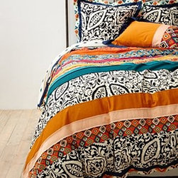 Anthropologie - Florence Duvet - Cotton percaleMachine washButton closureImported