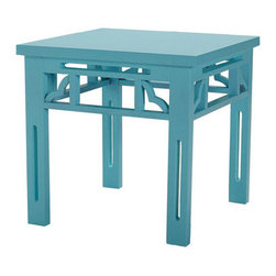 Xia Li Side Table - Add this fun and versatile accent table to any room in your home. Buy a pair for a symmetrical nightstand set up, or perhaps to put side by side as a coffee table.