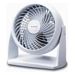 Kaz Inc - HW TurboForce Fan - Honeywell TurboForce   Air Circulator Fan TurboForce  power for intense cooling or   use as air circulator for energy savings 25% quieter than comparable fans 3 speeds & up to 90 degree pivot head Removable grille for easy cleaning Wall mount option 1 yea