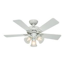Hunter - Hunter Small Room or Office Ceiling Fan with light X-18035 - Hunter Small Room or Office Ceiling Fan with light X-18035