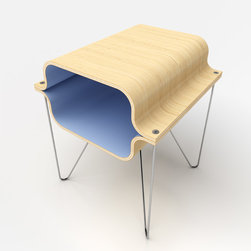 Bent Plywood - Bent Plywood Side Table
