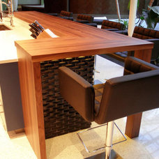 Modern Kitchen Countertops by The Grothouse Lumber Company