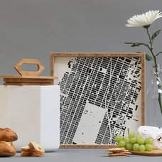 Houzz Products: Wood, White and Metal