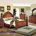 Castle Court Panel Bed - B778 - Includes: Panel Bed in your Queen, King or California King