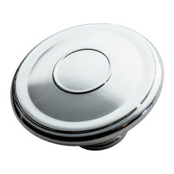 Southern Hills - Polished Chrome Cabinet Knobs by Southern Hills, Oversized, Pack of 10 - To all the kitchen cabinets you've loved before, the painted ones that matched the door. You're glad they came along and you dedicate this song, to all the kitchen cabinets you've loved before. Sure, the winds of change are always blowing but we're confident that these oh-so-smooth polished chrome cabinet knobs from Southern Hills have what it takes to make any home renovator (or country singer) settle down.  Pack of 10 knobs.