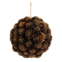 Silk Plants Direct - Silk Plants Direct Glitter Pod Orb Ornament (Pack of 6) - Pack of 6. Silk Plants Direct specializes in manufacturing, design and supply of the most life-like, premium quality artificial plants, trees, flowers, arrangements, topiaries and containers for home, office and commercial use. Our Glitter Pod Orb Ornament includes the following: