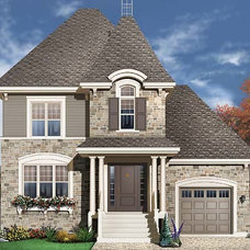 Colonial Bay House Plan - 4756