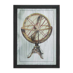 UMA - Armillary Sphere Wall Art - A representation of an instrument used by early astronomers to determine the position of stars