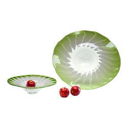 Cyan Design - Cyan Design 04588 Large Art Glass Bowl - Cyan Design 04588 Large Art Glass Bowl