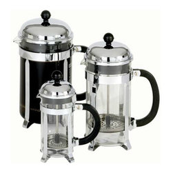 Bodum Chambord French Press - Start making your coffee with a French press. It makes fabulous coffee easily.