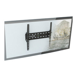 """Sonax - Sonax E-5055-MP Tilting Flat Panel Wall Mount for 26"""" - 50"""" TVs - Sonax - TV Mounts - E5055MP - Maximize your living space with a low profile mount from the Sonax Wall Mount Collection. The E-5055-MP is a tilting flat panel wall mount designed to accommodate most 26���-50��� TVs up to 80 lbs. Tilt options of +10__ / -15__ allow you to adjust your TV to enjoy the perfect angle for your space while the built in leveling system provides an easy DIY experience. This discrete low profile design is the perfect solution to customize your home interior and compliment your new flat panel TV. For a polished look pair this wall mount with your favorite Sonax TV or component stand."""