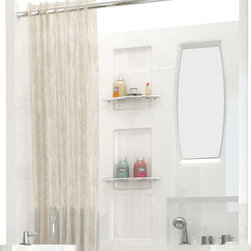 Spa World Corp - Meditub 31x40 Top Shower Enclosure - A top shower enclosure made specially to fit over a Meditub 3140 walk in tub.