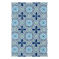 "Kaleen - Kaleen Matira MAT02 (Ivory) 7'6"" x 9' Rug - Matira is inspired from the absolutely beautiful and breathtaking secluded beaches of Bora Bora. White powdery sand, crystal clear blue waters, and the lush botanical surroundings embrace every aspect of this collection. Each rug is UV protected and handmade with 100% Polypropylene. Complete with our special ""K-Stop Non-Skid Backing"", Matira will be your perfect anchor to a magical getaway."