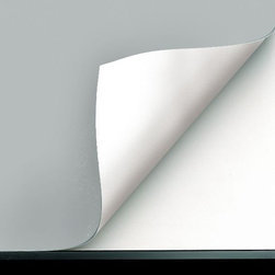 Alvin and Company - Vyco Board Cover Sheeting in Gray Color (31 i - Choose Size: 31 in. L x 23 in. WOn any smooth surface, Vyco vinyl covers provide an excellent workspace. In standard sizes, they're available in single sheets to fit small, medium and large drafting or drawing tables. Self-healing and flexible, they're featured in gray with reverse sides in white. Perfect, smooth, stain-resistant working surface for all drawing boards, tables, desks, filing cabinets, counter tops and shelving . Compass points, tacks and hard pencil impressions will not mar VYCO-protected surfaces – self-sealing surface recovers almost immediately . Preserves and protects expensive furniture against mars, scars, cuts, dents and prolongs the life of new boards. Will not deteriorate, discolor or crack. Easy to clean with a damp cloth or sponge. Easy to install – VYCO board cover cuts to size easily with ordinary scissors, then attaches with double-sided tape