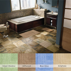 Mohawk Home Bath Rugs - Stylish and practical, this bath rug has it all. This rug features a skid-resistant latex back and is machine washable for easy care.
