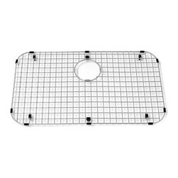 "American Standard - American Standard 8445.251400.075 25.25"" x 14.63"" Stainless Steel Bottom Grid Si - 25.25"" x 14.63"" Stainless Steel Bottom Grid Sink RackThe American Standard 8445.251400.075 is a stainless steel bottom grid rack. This optional accessory helps to protect your sink bowl from scratches. The bottom grid rack is both hygienic and dishwasher safe.Features:Polished stainless steelDishwasher safeSpecifications:Weight: 3.8 lbs.Width: 25.25""Length: 14.625""Material: Stainless Steel"