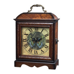 """Sterling Industries - Sterling Industries 118-008 10"""" Height Green Butterfly Clock - Specifications:"""