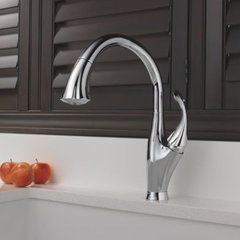 kitchen faucets by Delta
