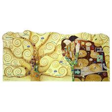Eclectic Headboards Fantasy Dreams Klimt tree of life beadhead