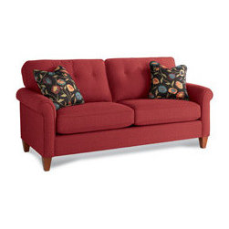 Lazy Boy - Laurel Sofa - Laurel Red sofa from Lazy Boy
