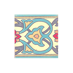 Handpainted Ceramic Tile Montecito Collection - Item CB026