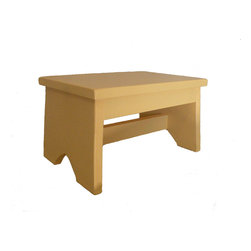 Quality handcrafted pine step stool - Quality handcrafted solid pine step stool. Great little stool for anyone with kids or to get to that top shelf in the kitchen!