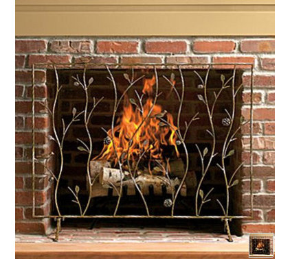 Eclectic Fireplace Screens by www2.jcpenney.com