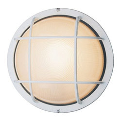Access Lighting - Nauticus 1-lt Outdoor Circular Wet Location Bulkhead - Small - Nauticus 1-lt Outdoor Circular Wet Location Bulkhead - Small