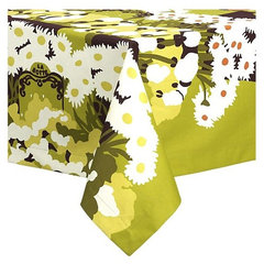 eclectic table linens by Crate&Barrel