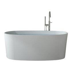 Badeloft - Badeloft - UPC Certified - Stone Resin, Freestanding Bathtub, Matte - UPC Certified -
